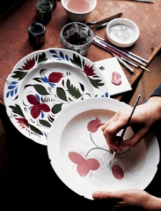 Painted-pottery