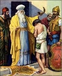 Samuel namaszcza Dawida1